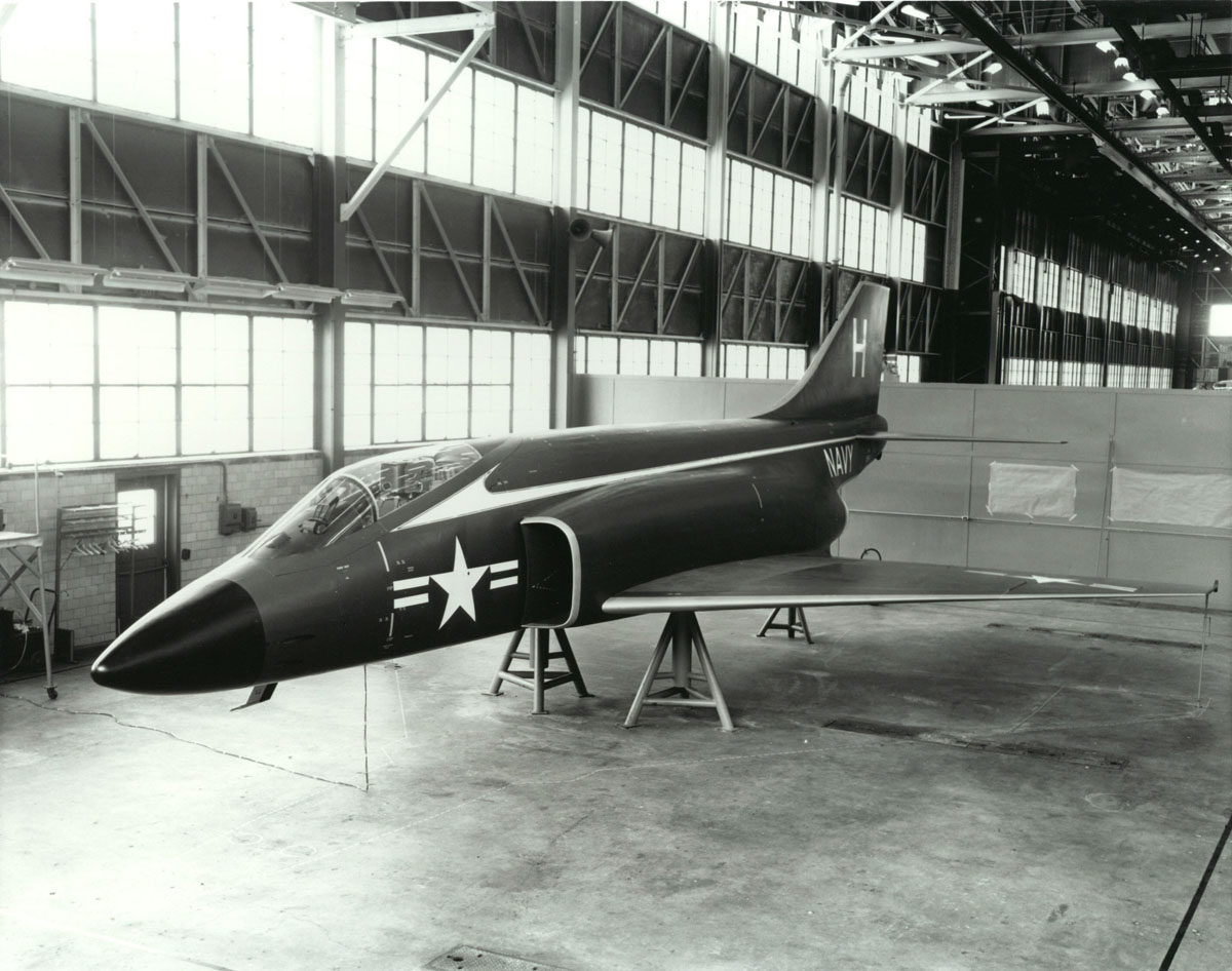 Phantom - Original Single Seat Mockup May 1954